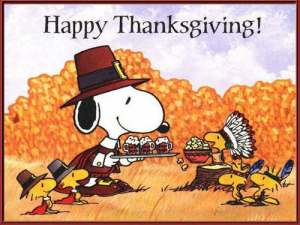 PeanutsThanksgiving