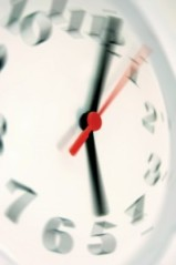 BlurredClock